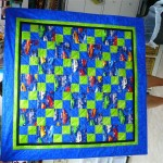 Quilters Three Comfort Quilt for a Classic car fan
